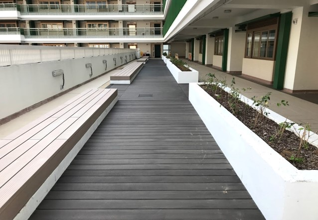 wood plastic recycled timber decking1